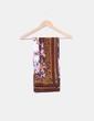 Pañuelo marrón estampado NoName