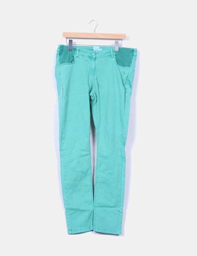 """Pantalón verde """" premamá"""" Asos"""