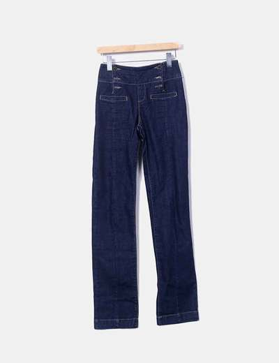 Denim abotoado Stradivarius