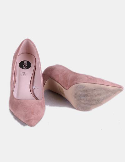 Zapatos Con Tacón Con Tacón Rosa Terciopelo Terciopelo Rosa Terciopelo Rosa Zapatos Con Zapatos mNnwv80