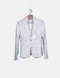 Conjunto de traje de pana blanco Sfera