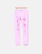 Pantalón rosa flúor con roturas NoName