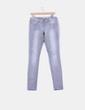 Pantalón demin gris detalle efecto desgastado  ONLY