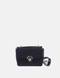 Bolso mini negro con cadena Zara