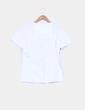 Camiseta blanca print 'Ride your life' Skull Rider