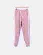 Pantalón jogging rosa empolvado con raya lateral NoName
