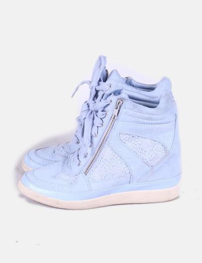 A ropostale sneaker azul cielo con cu a interior descuento 79 micolet - Sneakers cuna interior ...