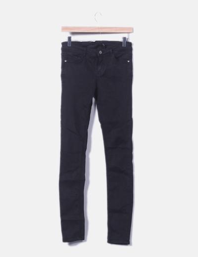 Jeans denim skinny negro