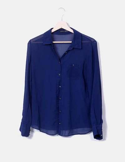 Camisa de gasa transparente Primark