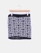 Falda bicolor estampada H&M