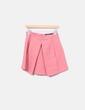 Falda bordada rosa Zara