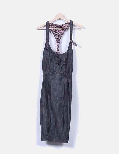Vestido pichi denim Anna
