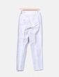 Pantalón blanco print gris NoName