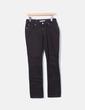 Jeans marron denim foncé Zara