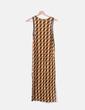 Vestido maxi print H&M