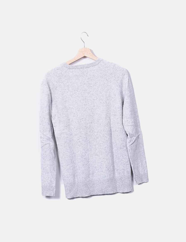 ... online gris y Chaquetas Abrigos de Jersey baratos punto de Mujer Zara  ZxPaCq bbe85bc7e04e