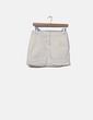 Minifalda de rayas Tex
