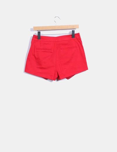 Falda pantalon rojo
