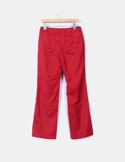 Pantalon rojo depata recta