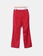 Pantalón rojo depata recta CeDosCE