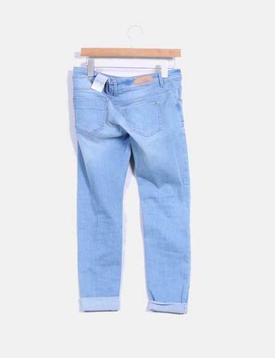 Jeans claros super skinny