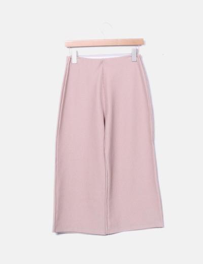Pantalón nude culotte