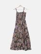 Vestido de tirantes con print floral Nácara