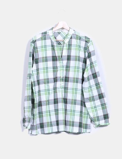 Camisa cuadros verdes Lloyd's