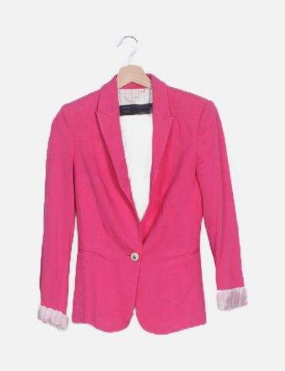 Blazer rosa fucsia