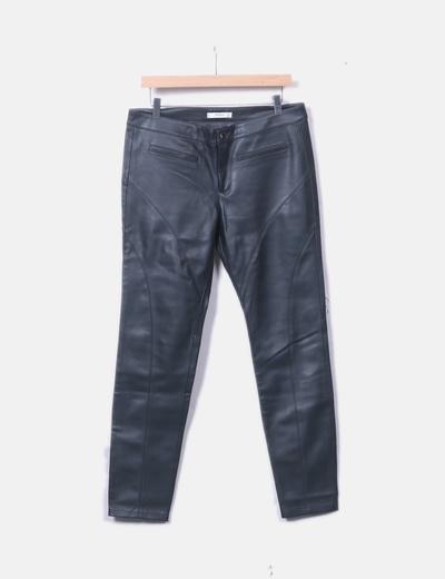 Pantalons slim Mango