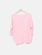Pink knit sweater Lefties