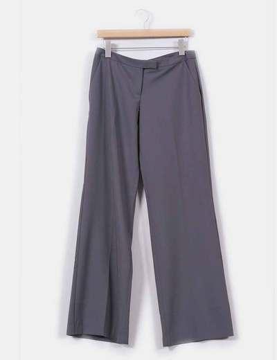 Pantalon gris Naf Naf