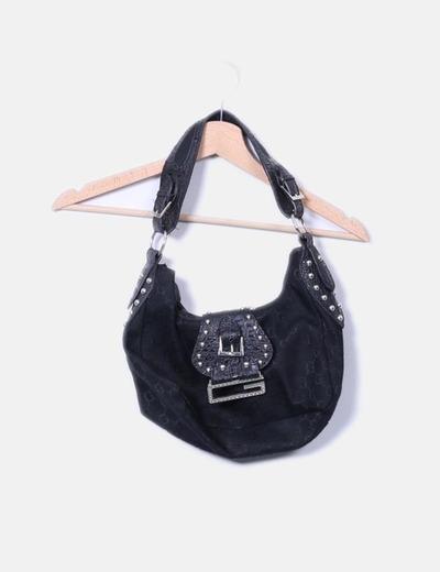Bolso combinado negro NoName