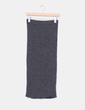 Falda mini lápiz gris marengo Zara