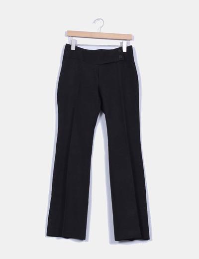 Pantalón de vestir negro Promod