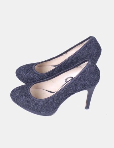 Chaussure noire lounge lacet de Furiezza