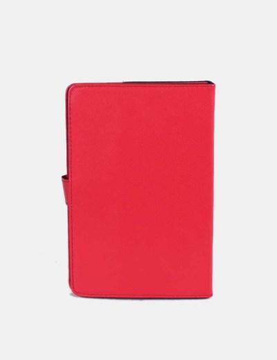 Funda de tablet roja