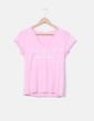 Camiseta rosa print Green Coast