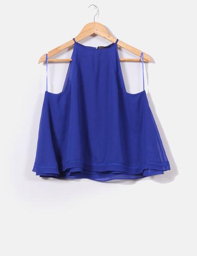 Elettrico sconto Blu Zara Micolet 47 Blusa qHwBEECtp