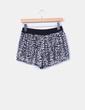 Shorts tul negro lentejuelas plata Zara