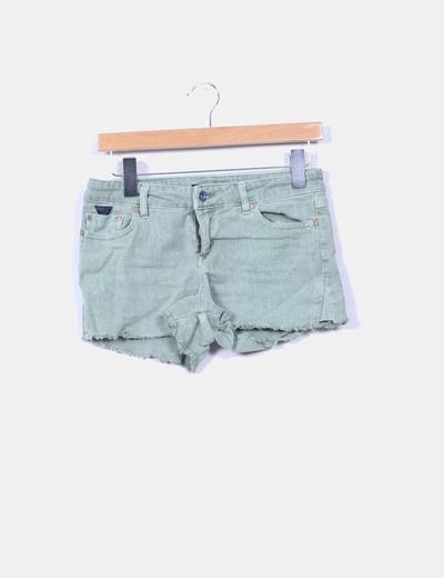 Short verde Pull&Bear