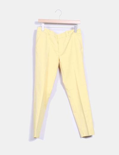 Vestir De 70 descuento Pantalón Micolet Amarillo Zara taw6USFq6 8217fd80a63e