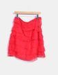 Falda volantes rojo NoName