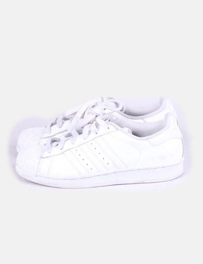 Adidas superstar blanca