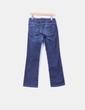 Jeans oscuro de pata recta Tex Woman