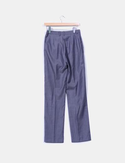 Pantalon gris de pinzas