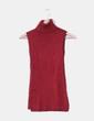 Jersey rojo de canalé con brillos cuello Fórmula Joven