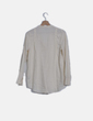 Blusa camisera beige abotonada H&M