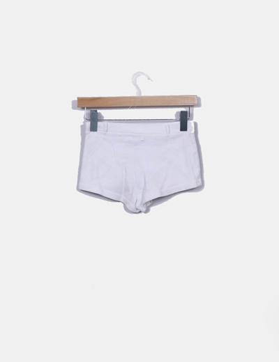 Shorts sport blanco