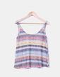 Top multicolor texturizado Zara